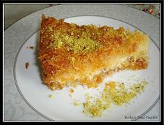 """Turkish Food Passion: Turkish Kunefe (Künefe)  Looks like a great recipe.  This should be under an """"I wanna try"""" lable."""