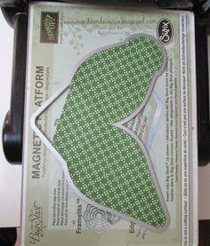 Make the Curvy Keepsake Box Die using your Stampin' Up! paper stacks