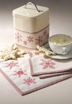 Snowflake cross stitch patterns