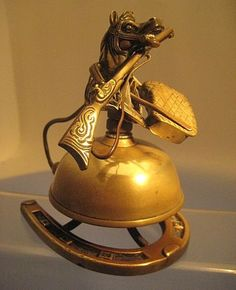 Victorian Equestrian Desk Bell (How Cool is This Bell)