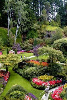 butchart gardensvictoria