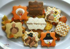 | Thanksgiving Cookies