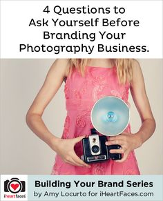 Great tips for any type of small business, not only photography. #Branding your #Business Series by Amy Locurto for iheartfaces.com lyon lyon, busi seri, photographi busi, small businesses, ami locurto, business branding, branding your photography, ami lyon, photography business