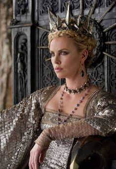Cherlize Theron as the Queen in Snow White and the Huntsman