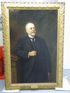 William Henry Allen (1844-1926),Queen's Engineering Works, Bedford by Hubert von Herkomer 1904