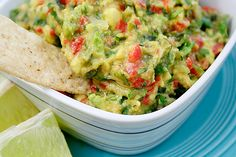 Roasted Garlic, Poblano and Red Pepper Guacamole #Guacamole #Roasted_Garlic #ezrapoundcake