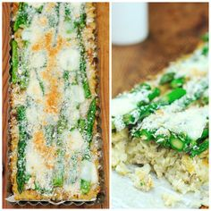 Hanielas: Cauliflower Asparagus Tart