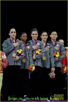 U.S. Women's Gymnastics Team Wins Gold Medal!