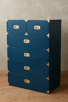 Lacquered Wellington Six-Drawer Dresser - anthropologie.com