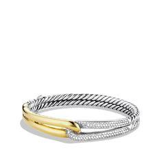 Labyrinth Single-Loop Bracelet