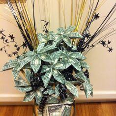 Origami Money Tree - Graduation Gift