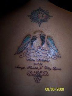 Baby Footprint Tattoos | Tattoos Designs Pictures: Baby Footprint Tattoos