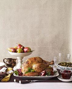Herb-Butter-Roasted Turkey #thanksgiving #turkey #leftovers #holiday
