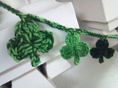 St. Patrick's Day Garland.