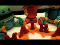 how to make - team umizoomi cake topper ( step by step picture is in the end of the video )