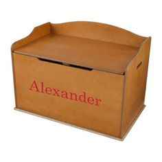KidKraft Personalized Austin Toy Box - Honey Green - W14954-8 $104.99