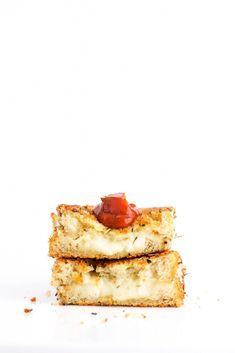 Mozzarella stick grilled cheese