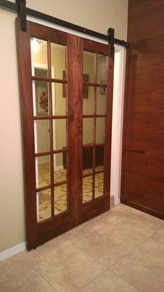 sliding barn doors, barn door hardware, offic redux, regular door, father offic