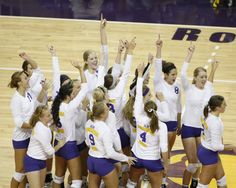 UNI Panthers Volleyball Team