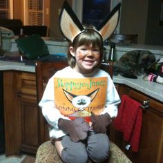 Favorite book character day at school.