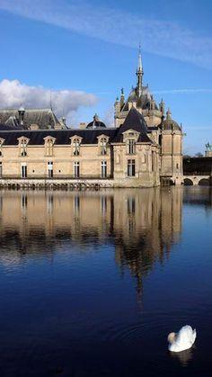 Chateau de Chantilly, France.