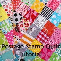 Red Pepper Quilts: Postage Stamp Quilt Tutorial @Rita - Red Pepper Quilts