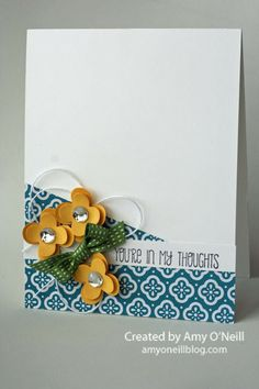 Stampin' Up! What a beautiful card!