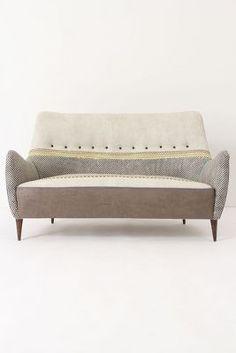 prestino sofa / anthropologie via The Minimalist via satsuki shibuya