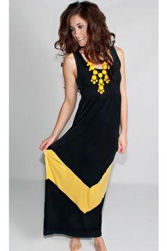 A Walk To Remember Chevron Maxi Dress - Dresses