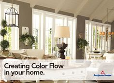 Creating Color Flow in Your Home