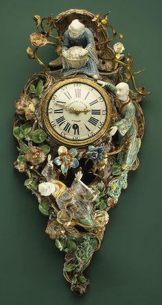 French Wall Clock, ca. 1675–1739.