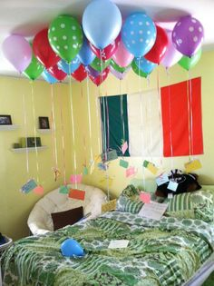 25 balloons with quotes for best friend's 25th birthday