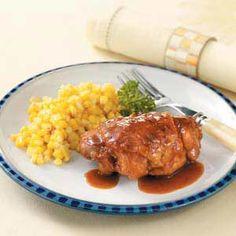Saucy Chicken Thighs