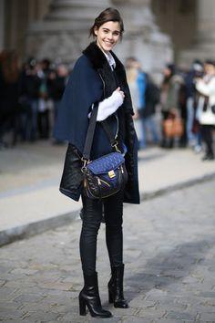 fashion weeks, paris fashion, style crush, blue, style 2014, outfit, paulin hoarau, pari fashion, street styles