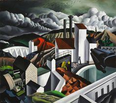 The White Dam, 1939  Raphael Gleitsmann (American, 1910-1995)