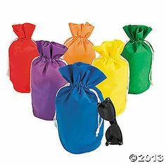 birthday parti, mini drawstr, 10th birthday, busi bag, drawstr bag, minis, parti idea, drawstring bags, goodi bag