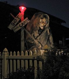Halloween- decorating the outside on Pinterest