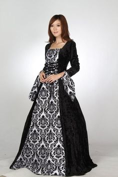 pirate formal dress | ... Dress Gothic Pirate Ball Gown Prom Picture in Prom Dresses from cuixia