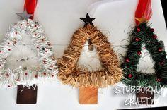 DIY::Christmas Tree Wreath Tutorial
