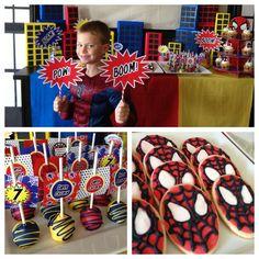 spiderman party! @Kristy Lumsden Lumsden Hansen