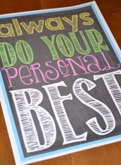Chalk It To Me! {Classroom Rules and Inspiring Posters for the Classroom}