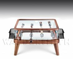 Table football tables on pinterest football stainless for Football coffee table