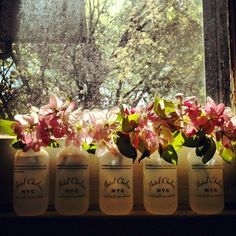 """""""Today I picked apple blossoms from the tree in our yard and put them in shampoo bottles from the Chelsea Hotel, where my dad and I stayed last summer until the day right before it closed..."""""""