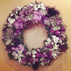 TCU wreath !