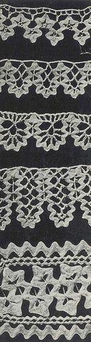free patterns.  Nice edgings