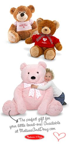 Is that pink bear cute or what?