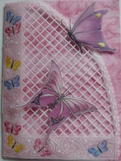 craft free, parchment craft, free pattern, butterflies, craft patterns, craft blogs, butterfli trelli, crafts, parchment paper