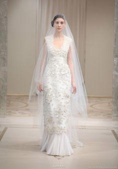 Reem acra spring 2010-bridal