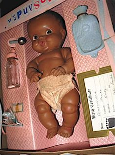 amosandra doll 1950's | Amosandra Doll in Original Box.  ** I had one of these when I was a little girl.