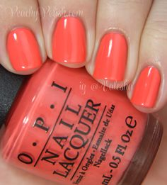 OPI Toucan Do It If You Try - Peachy Polish color
